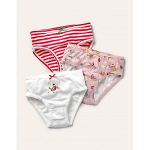 Christmas Underwear 3 Pack - Festive Multi