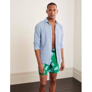 Swimshorts - Rich Emerald Turtle