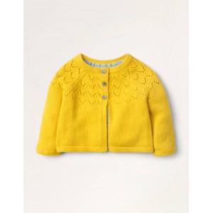 Cosy Cardigan - Honeycomb Yellow