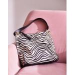 Portia Shoulder Bag - Zebra