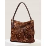 Portia Shoulder Bag - Tan Leopard