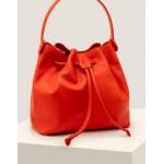 Octavia Drawstring Bag - Orange Sunset