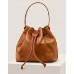 Octavia Drawstring Bag - Tan