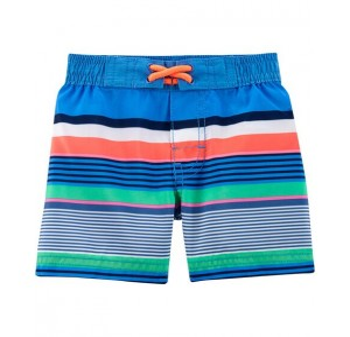 OshKosh Striped Swim Trunks