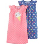 2-Pack Kitty Ice Cream Nightgowns
