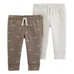 2-Pack Cotton  Poly Pants