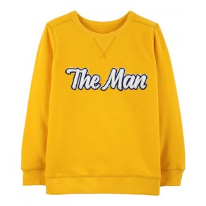 The Man Fleece Sweatshirt