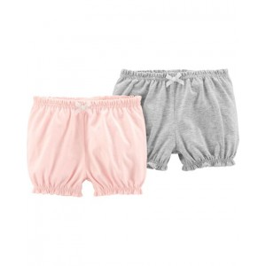 2-Pack Pull-On Bubble Shorts