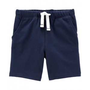 Pull-On French Terry Shorts