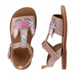 OshKosh Glitter Unicorn Sandals