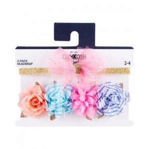 2-Pack Plumes  Bow Headwraps