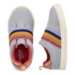 Rainbow Slip-Ons