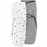 2-Pack Babybsoft Easy Swaddles