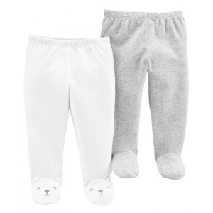 2-Pack Babysoft Footed Pants