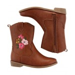 Carters Floral Cowgirl Boots