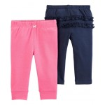 2-Pack Cotton Pants