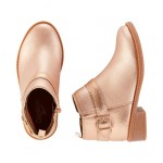 OshKosh Rose Gold Ankle Boots