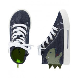 Carters Dinosaur High Top Sneakers