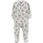 Cookies  Milk Zip-Up Cotton Sleep  Play
