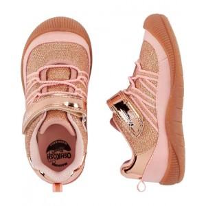 OshKosh Rose Gold Bump Toe Athletic Sneakers