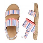 OshKosh Striped Sandals