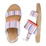 OshKosh Striped Sandals