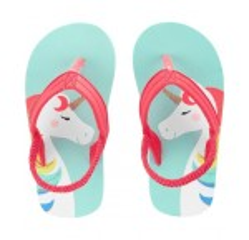 Carter's Unicorn Flip Flops