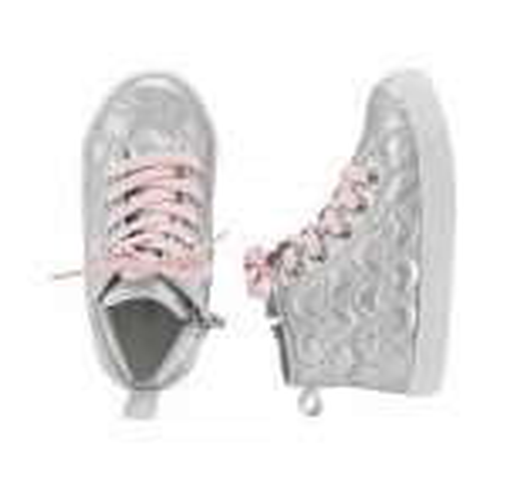 Carters Heart High Top Sneakers