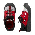 OshKosh Red Bump Toe Sandals
