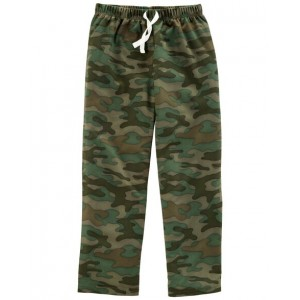 Camo French Terry Poly Sleep Pants