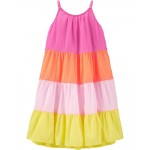Tiered Crinkle Gauze Dress