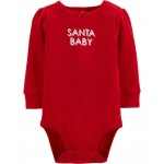 Baby B'gosh Christmas Slogan Bodysuit