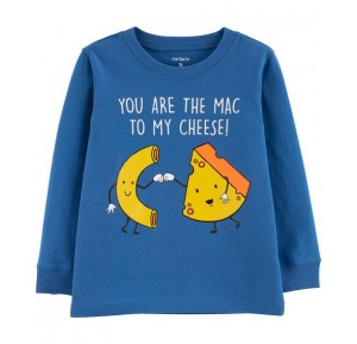 Mac To My Cheese Jersey Tee