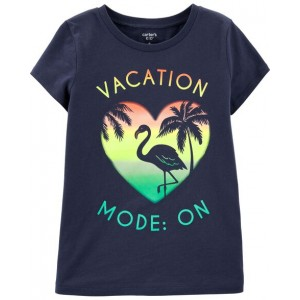 Vacation Mode On Jersey Tee