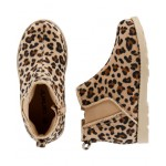 Carters Leopard Ankle Boots