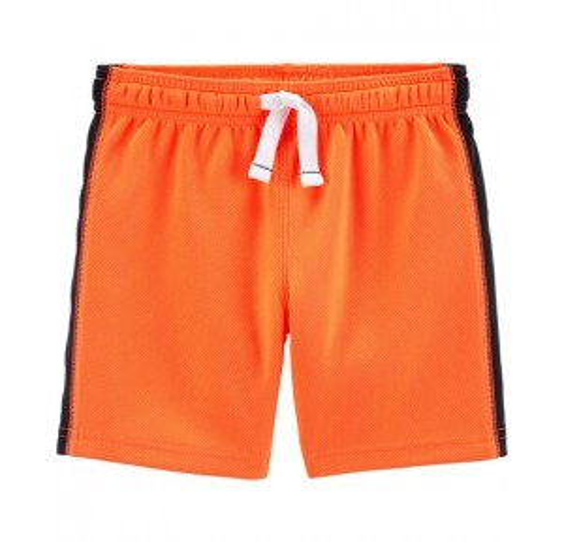 Active Mesh Shorts, Orange