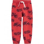 Cars Pull-On Fleece-Lined Joggers