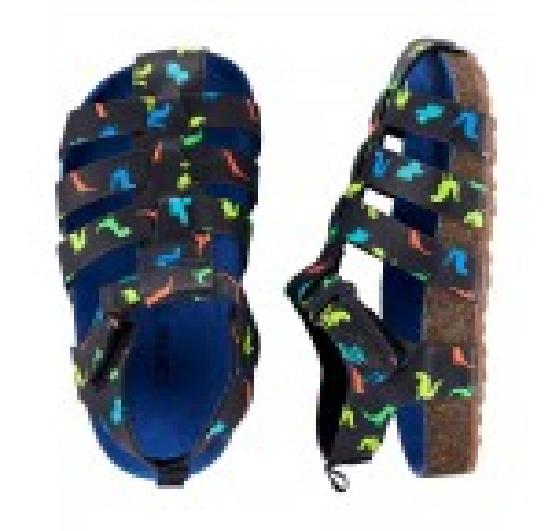 Carter's Dinosaur Fisherman Cork Sandals