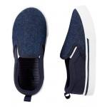 OshKosh Navy Slip-On Shoes