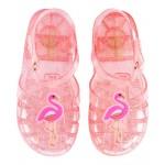 OshKosh Flamingo Jelly Sandals