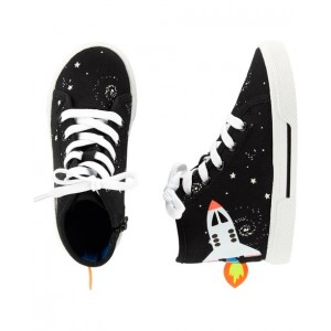 Carters Space High Top Sneakers