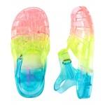 OshKosh Rainbow Jelly Sandals