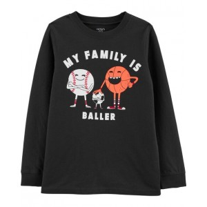 My Family Is Baller Jersey Tee