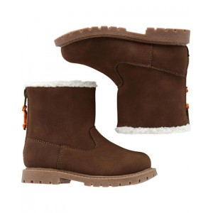 Carters Faux Sherpa Boots