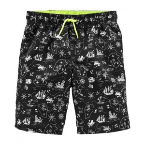 OshKosh Pirate Swim Trunks