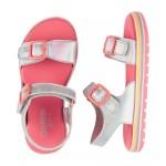 OshKosh Holographic Buckle Sandals