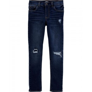 Stretch Rip and Repair Jeans - Skinny Fit