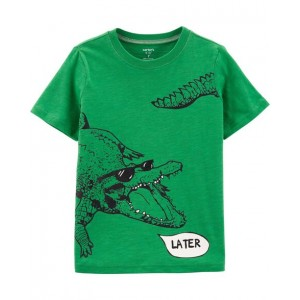 Later Gator Slub Jersey Tee