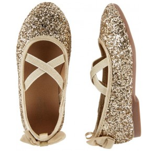 OshKosh Glitter Ballet Flats