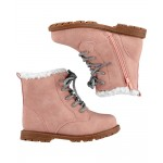 OshKosh Pink Combat Boots